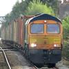66770 at Spalding working 4E20 13:21 Felixstowe South GB Railfreight to Masborough N&W GBRf