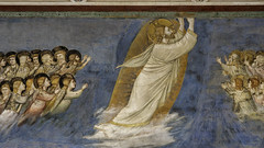 Giotto, Ascension (detail), Arena Chapel