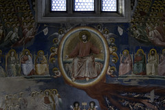 Giotto, Last Judgment, detail with Christ in Majesty, Arena Chapel