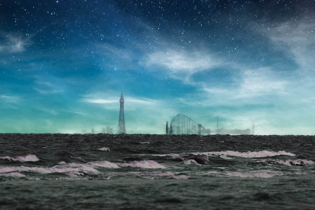 Blackpool from Formby Point