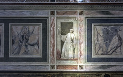 Giotto, the Vice of Infidelity (Idolatry), Arena Chapel