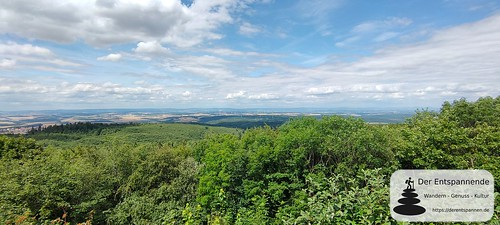 Ausblick vom Königsstuhl (Donnersberg)