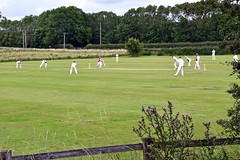 Photo of South Kilvington CC: View from the nearby road