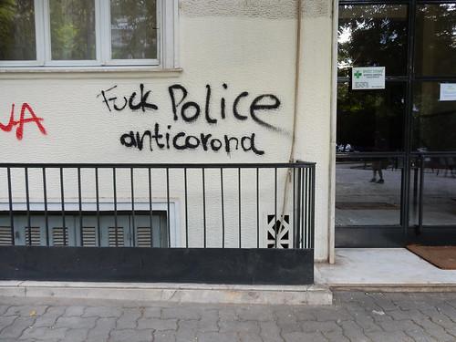 Fuck Police: anticorona
