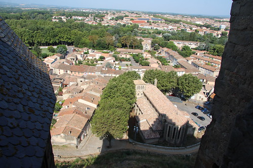 Carcassonne castle and medieval city