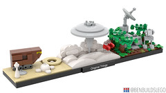LEGO Star Wars: Original Trilogy skyline [2]