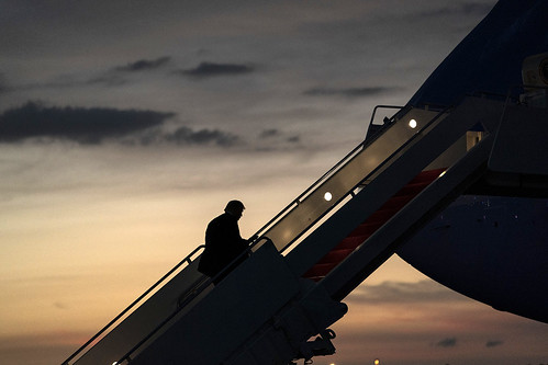 President Trump in Florida by The White House, on Flickr