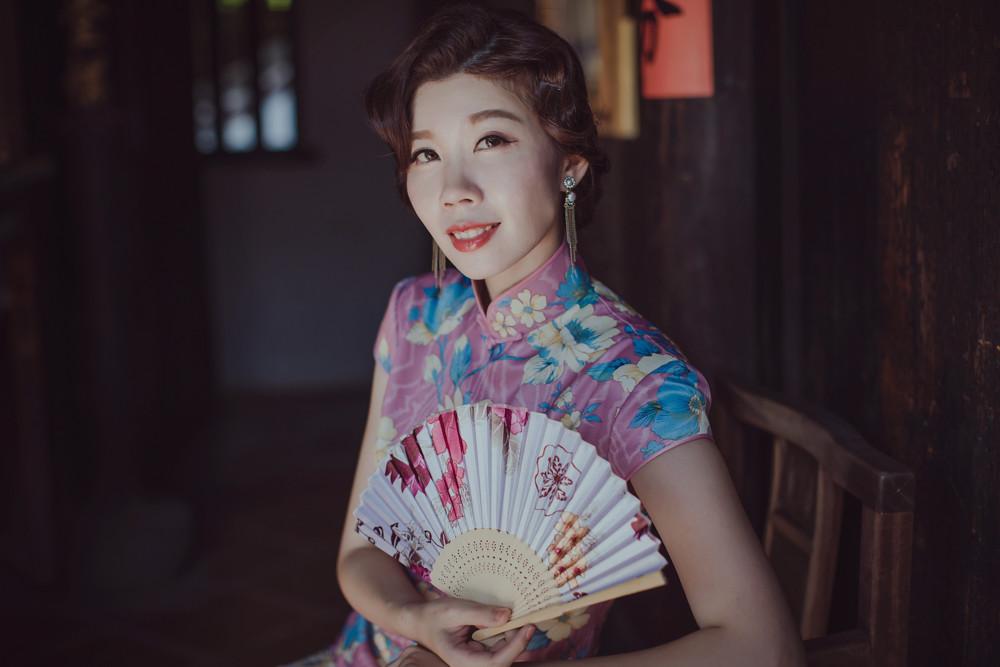自主婚紗,地點,台北市林安泰古厝,婚紗