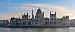 Hungarian Parliament Building - panorama