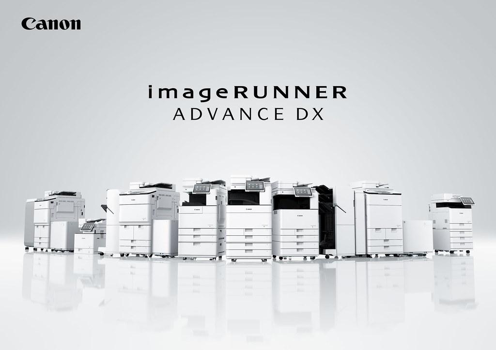 01_Canon新一代商用多功能複合機 imageRUNNER ADVANCE DX系列,更快速、更安全、更直覺 ,三箭齊發提升辦公室生產力。