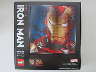 LEGO Art Marvel Studios Iron Man 31199
