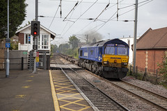 Photo of 66051 at Stowmarket