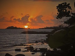 August sunrise in St. Croix