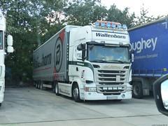Photo of Scania R Streamline Topline BN-65DON Wallenborn [ BG ] Lymm Truckstop M6 UK