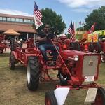 Borlaug Fellow Hamilton at the NC State Fair Grounds