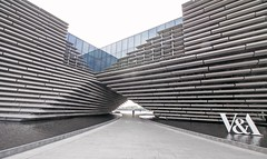 Photo of V&A building Dundee.