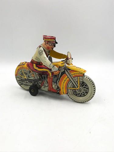 Vintage Marx Wind Up Toy Motorcycle ($134.52)