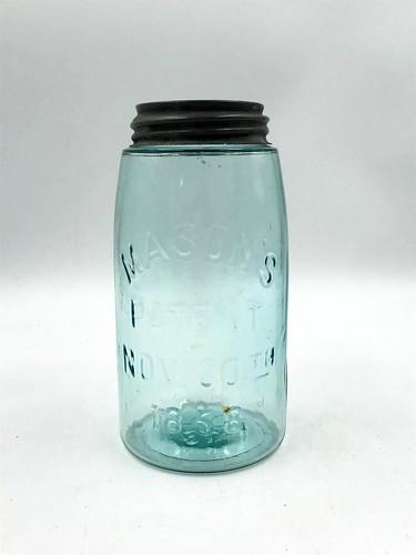 #13 Mason Blue Jar ($42.18)
