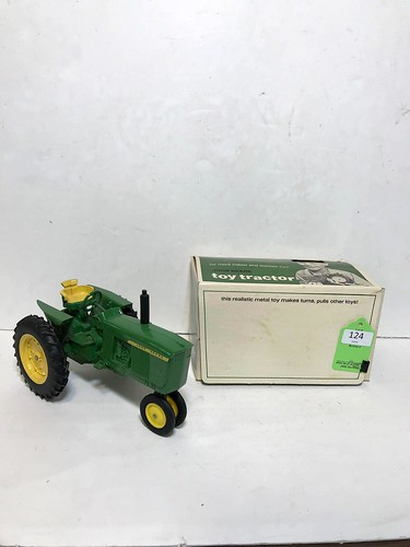 Vintage John Deere Toy Tractor w/ Original Box  ($283.86)