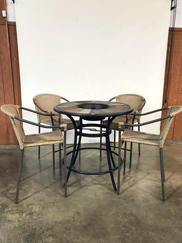 Patio Table with 4 Chairs ($241.68)