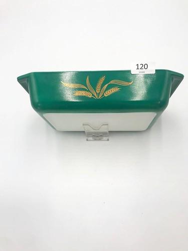 Pyrex Dark Green Wheat 575-B Casserole Dish ($49.02)
