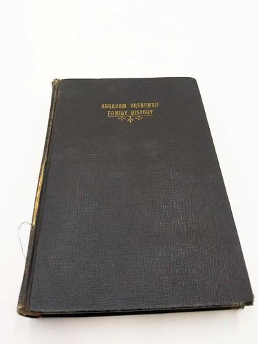 Abraham Breneman family history by Charles D Breneman ($100.32)