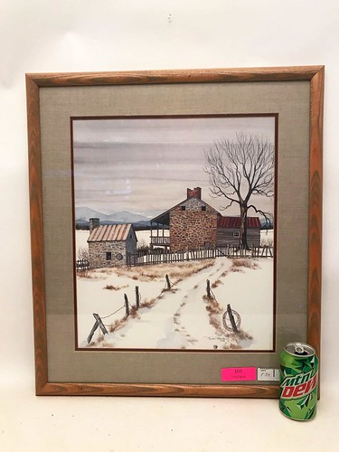 1988 Linda Patrick Limited Edition Framed Print  ($120.84)