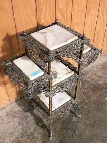 3-tier Plant Stand w/ Marble Inserts ($206.34)
