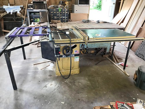 Powermatic Table Saw w/ Work Table and Excalibur Extension ($1,710)