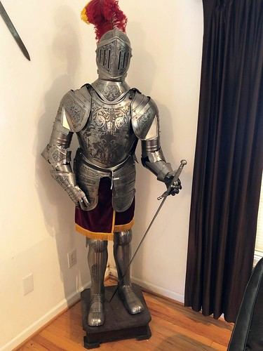 Life Size Medieval Suit of Armor with Sword ($798.00)