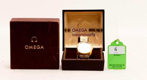 Omega Megaquartz 1310 Man's Wrist Watch ($156.10)