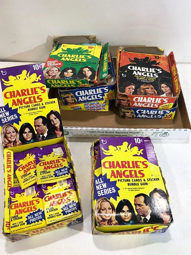 Charlie's Angels picture cards and sticker bubble gum ($685.14)