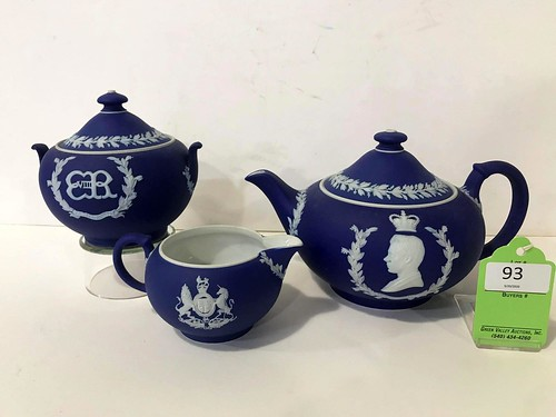 Wedgewood Porcelain Coronation Tea Set ($21.28)