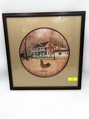 1992 P. Buckley Moss Limited Edition Framed Print ($213.18)