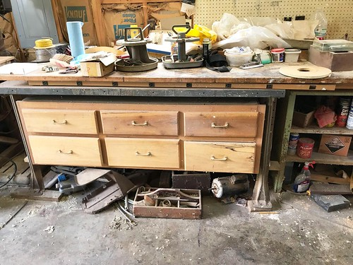 6 Drawer Heavy Duty Workbench w/ Custom Top ($257.64)