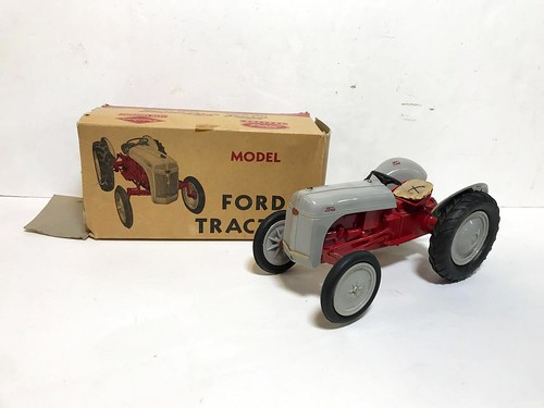 Vintage Ford Tractor with Original Box ($188.10)