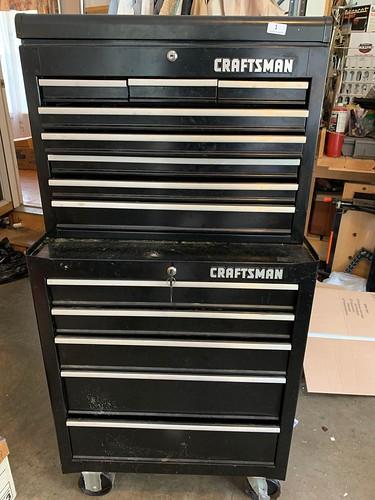 Rolling Craftsman Tool Cart ($335.16)