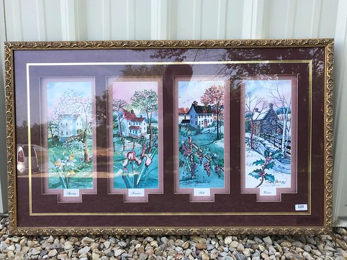 Lisa Geiman Nicely Framed Original Print ($370.50)