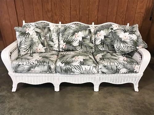Braxton Culler Wicker Sofa ($243.96)