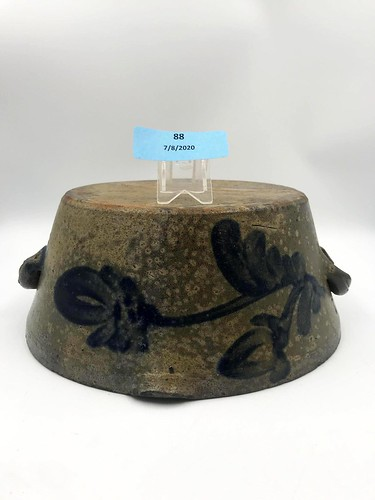 19th c. Baltimore Region Stoneware Milkpan ($285.00)
