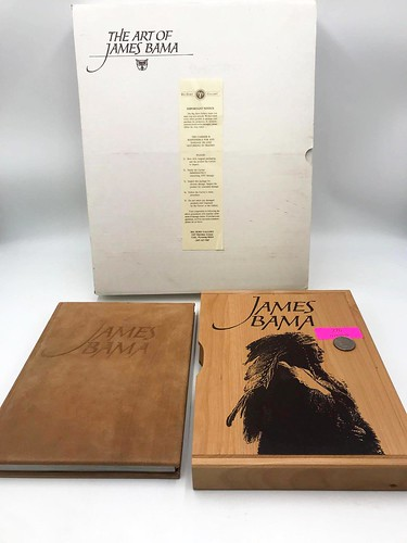 Artist James Bama Limited Edition Book Folio ($139.08)