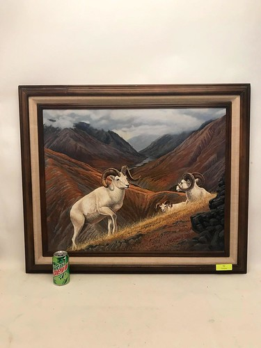 1981 Patrick Sawyer American West Painting ($92.34)