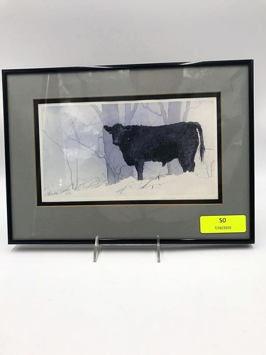 1986 Geneva Welch Limited Edition Framed Print ($151.62)