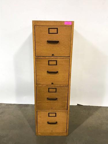 Oak Filing Cabinet ($225.72)