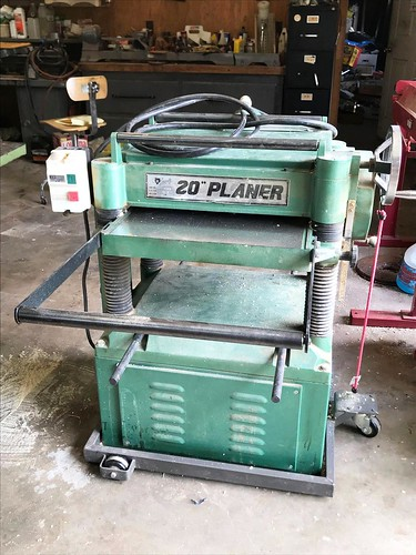 """Grizzly 20"""" Planer ($681.72)"""