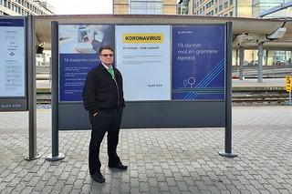 Jag på Oslo S 2020-03-14