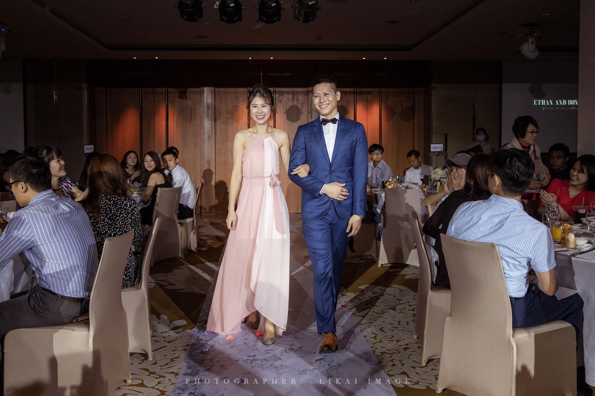 婚禮紀錄 - Bonnie & Ethan - 大溪威斯汀度假酒店