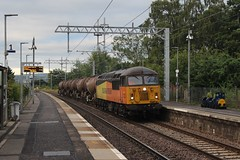 Photo of 56078 6S98 21:10 Spalding Up Sidings to Aberdeen Waterloo; Bridge of Allan; 06-08-2020