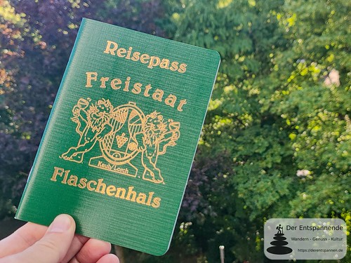 Reisepass: Freistaat Flaschenhals