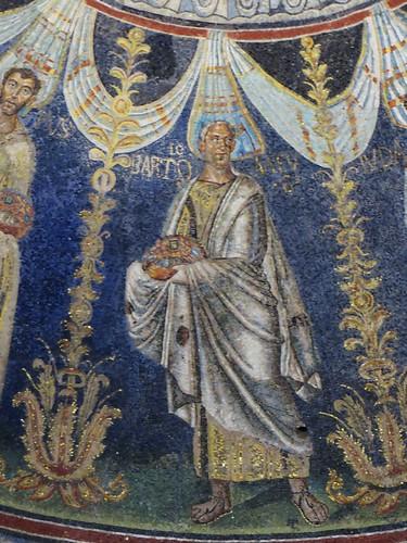St Barthélémy, baptistère des Orthodoxes ou de Néon, IVe-Ve siècles, Ravenne, Emilie-Romagne, Italie.
